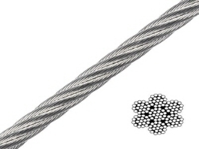 Stainless Steel Wire Rope (7x19)